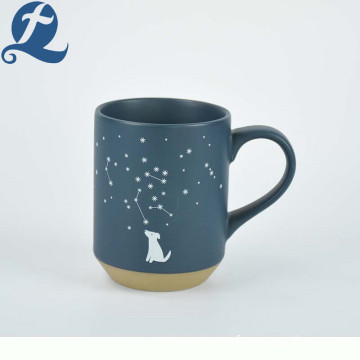 Christmas constellation custom printing coffee mug matte ceramic mugs for gifts