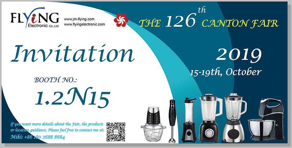 canton fair food blender