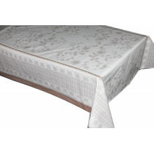 Elegant Tablecloth with Non woven backing for Sales