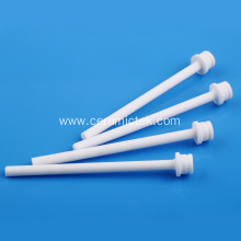 High precision 95% alumina ceramic shaft
