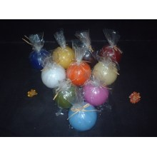 Colorful Round Shaped Ball Candle