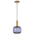 Modern Fancy Hand Blown Glass Shade Pendant Light
