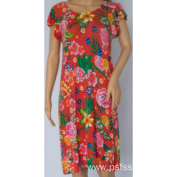 Women Dress with Front Neckline