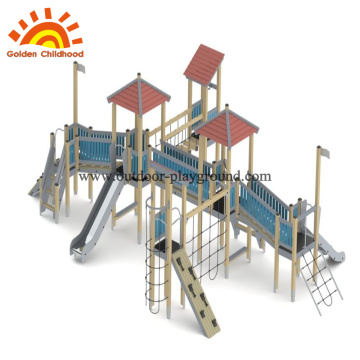 HPL Outdoor Playground Equipment backyard toddler