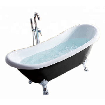 Black Clawfoot Bath Tub 290L