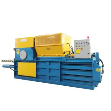 Semi-automatic horizontal baler machine