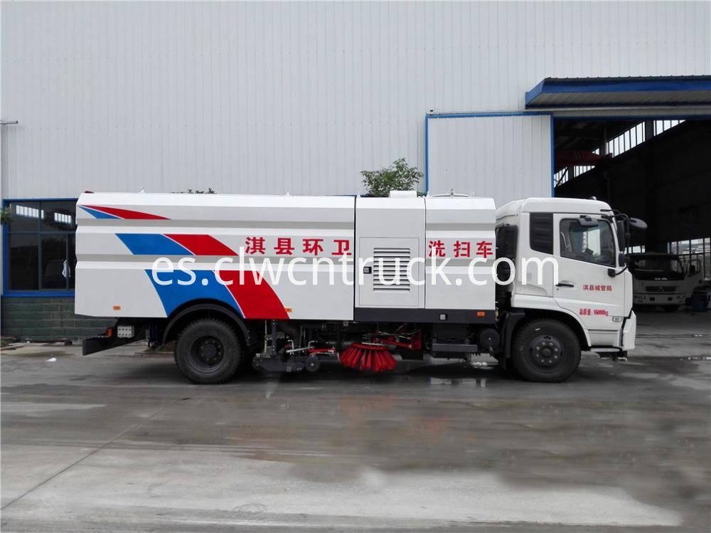 Cleaner Sweeper Truck 5