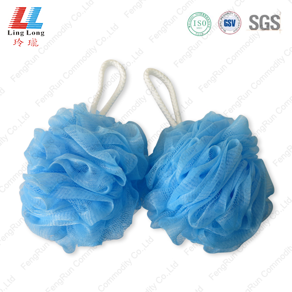 Massage cleansing bath sponge mesh ball