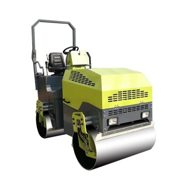 Honda GX 630 ride-on double drum road roller