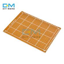 10PCS Lot universal 5x7cm Wholesale Universal Bakelite HB Rubber Sheet Hick Joint Hole Board 5*7 Multi-function Experiment Board