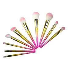 10pc Ombre Makeup Brush tarin