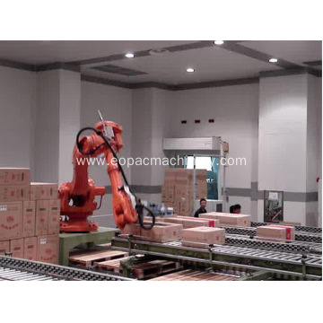 Robot Palletizer Pallet Auto Stacking