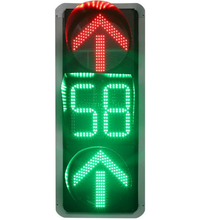 Led Traffic Light at Intersections