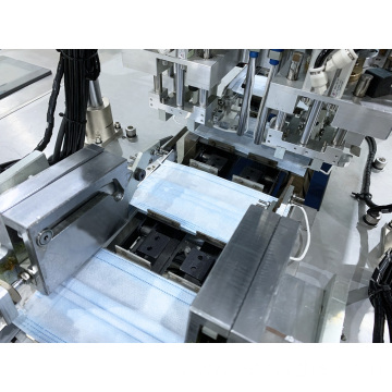 Automatic forming cutting mask machine