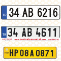Car License Plate Grade Retro Reflective Sheeting