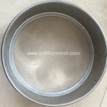 316 Stainless Steel Wire Mesh Small Sieving Screen