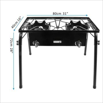 Outdoor High Pressure Double Burner Stove