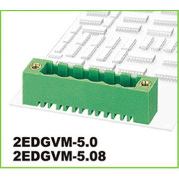 2p-10p 5.0mm Pitch Green Pluggable Terminal Connector Block