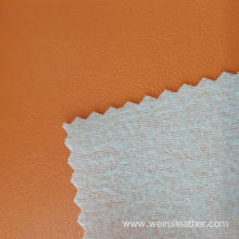 Orange Natural Comfortable PVC Leather