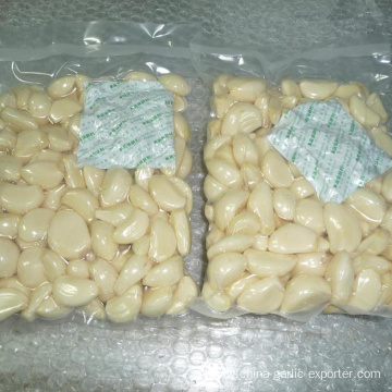 Fresh Peeled Garlic Clove With 500g Vacuum Bag.