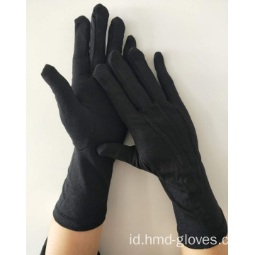 Sarung Tangan Formal Black Glove Nylon Panjang
