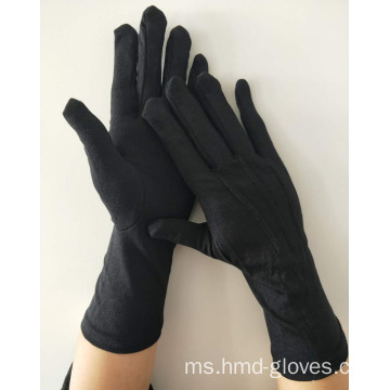 Nylon Glove Hitam formal Long terbengkalai