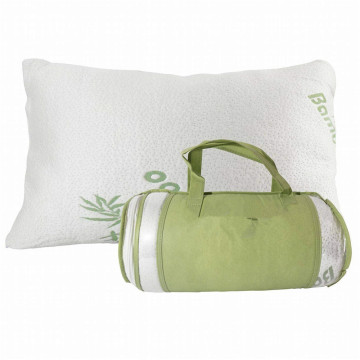 Bamboo Cover With Zipper Memory Foam Pillow