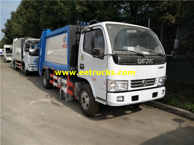 DFAC 5000L Compression Trash Trucks