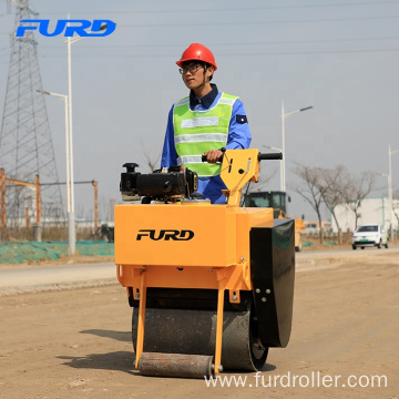 Small Road Construction Equipment Single Drum Vibratory Roller