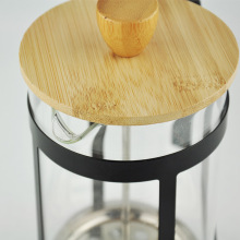 BAMBOO LID FRENCH PRESS