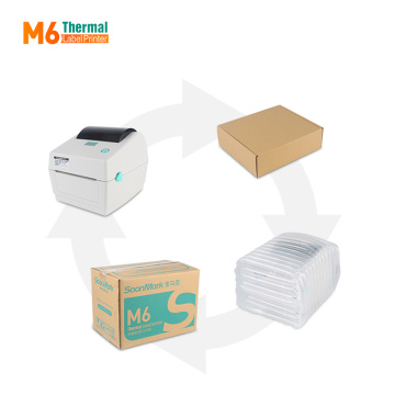 Dymo compatible 4x6 thermal label printer for shipping