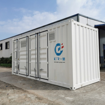 containerized oxygen generator with cylinder