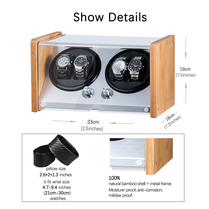 double automatic watch winder