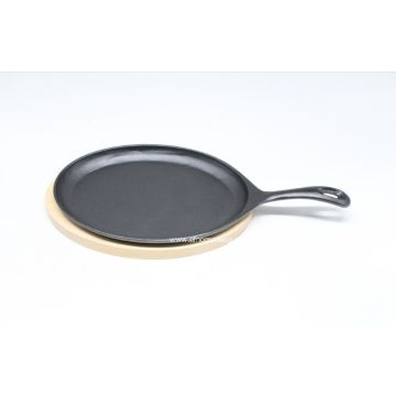 Pre-seasoned Cast Iron Griddle with Panel