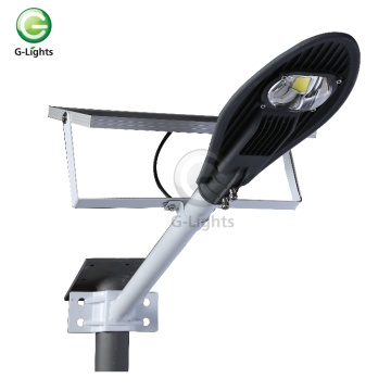 IP65 waterproof  Aluminumoutdoor COB solar led streetlight