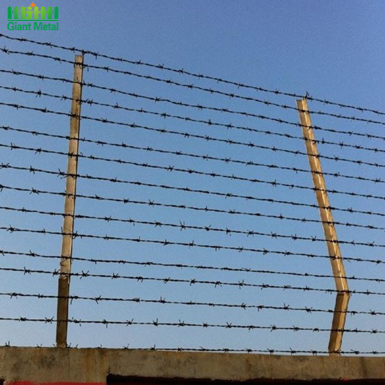 Military Protecting Fence High Tension Barbed Wire