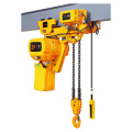 Double electric chain hoist trolley for sale