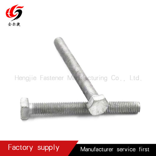 OEM galvanized hexagonal bolt