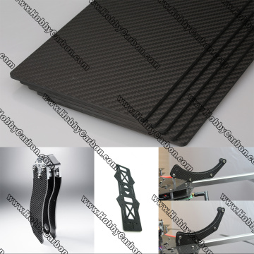 High precision CNC carbon fiber cutting