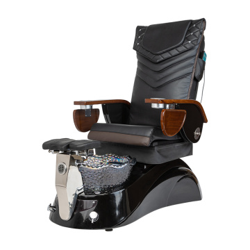 Pedicure Chair with Lavish Black Pedicure Tub