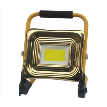 Solar flood light for architectural lighting