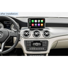 Décodeur d'interface Cartrend Wireless Carplay Box Android Auto pour écran OE Mercedes NTG4.x NTG5.x