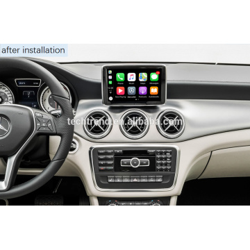 Cartrend Wireless Carplay Box Android Auto ke duba mai dubawa don Mercedes NTG4.x NTG5.x OE allo