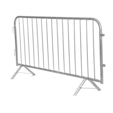 crowd control barrier fence galvanized steel barricades