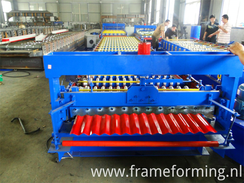roofing sheet forming machine )
