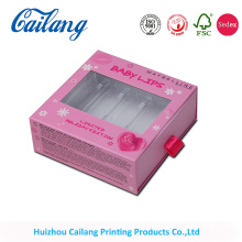 pvc window  Sliding drawer paper box