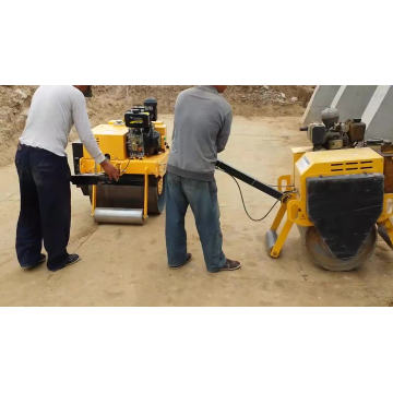 Mini Hand Operated Road Compactor Roller