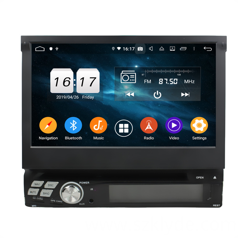 Android 9.0 7inch universal car dvd