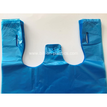 Blue Grocery Thick Resealable Plastic Bags