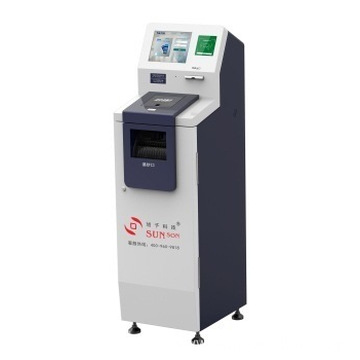 Financial Bank Cash Deposit Kiosk for Retailers